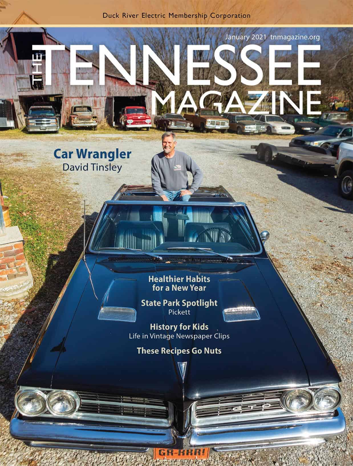 Tennessee Magazine January 2021 cover