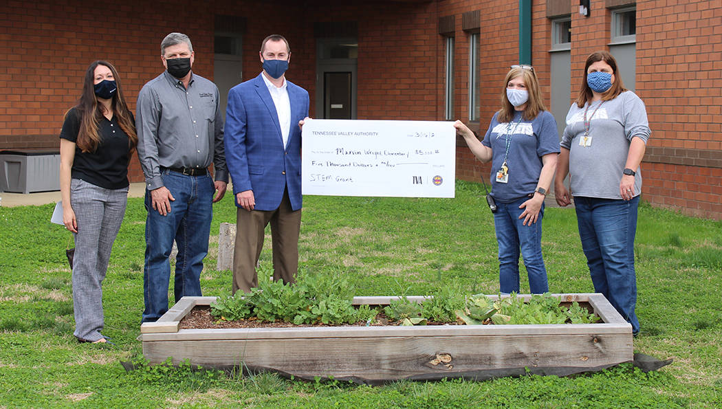 Marvin Wright Elementary receives STEM grant