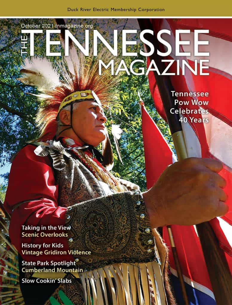 TN Magazine October 2021 issue cover